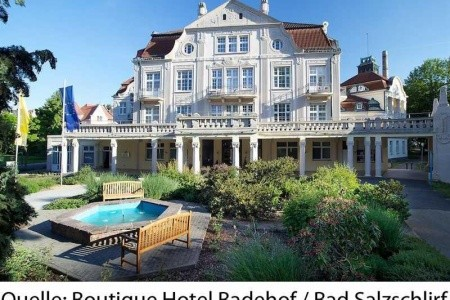 Boutique Hotel Badehof - ubytování
