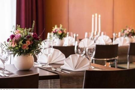 Hotel Dorint Dresden - luxusní dovolená