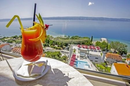 Hotel Plaža Duće - Omiš v srpnu - Chorvatsko