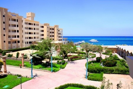 Hotel King Tut Aqua Park Beach Resort - Egypt  letecky