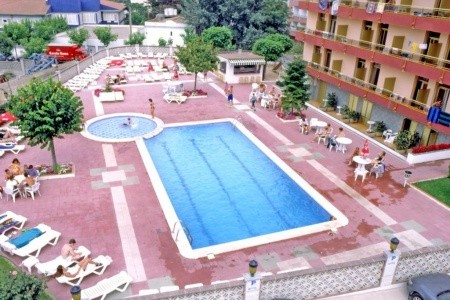 Hotel Continental Tossa - v září