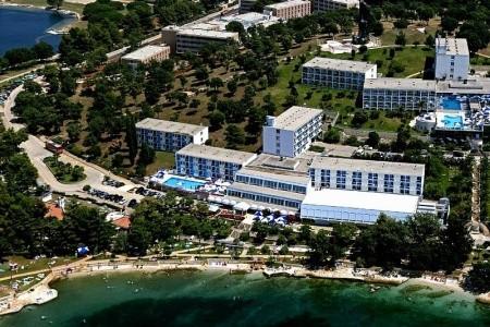 Plavi Hotel, Chorvatsko, Poreč