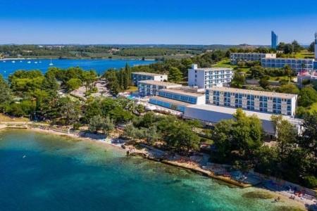 Hotel Zorna Plava Laguna, Chorvatsko, Istrie