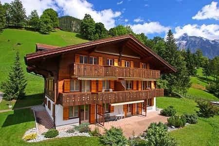 Chalet Hori - Švýcarsko v prosinci