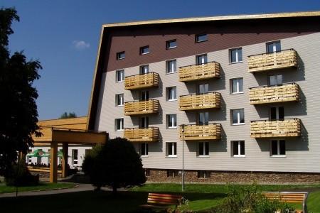 Depandance hotelu Srní - v únoru