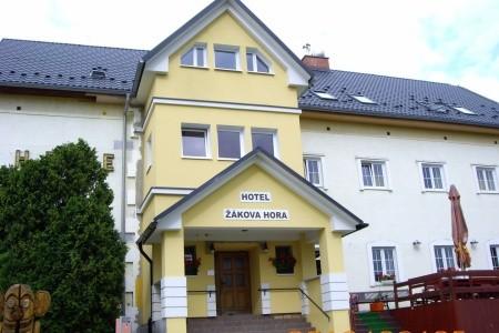 Hotel Žákova hora - v lednu