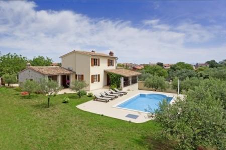 Villa Braidizza - v červnu