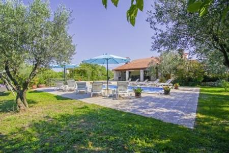 Villa Lavinia - Chorvatsko  v červnu