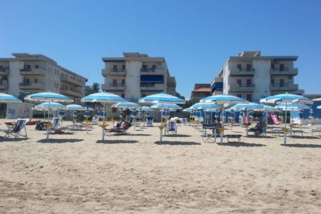Residence Mareverde - Silvi Marina - Abruzzo v červnu - Itálie