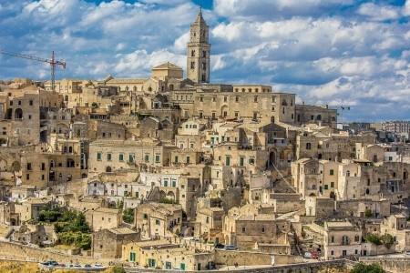 Basilicata a Apulie se 2 výlety - letní dovolená