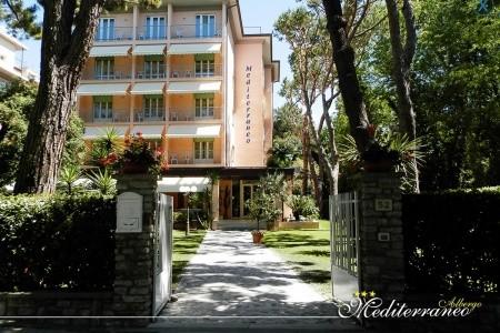 Hotel Mediterraneo Marina Di Pietrasanta - Toskánsko  - Itálie