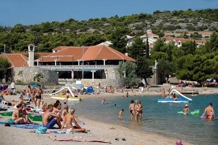 Pokoje Jezera - Lovišća - v září