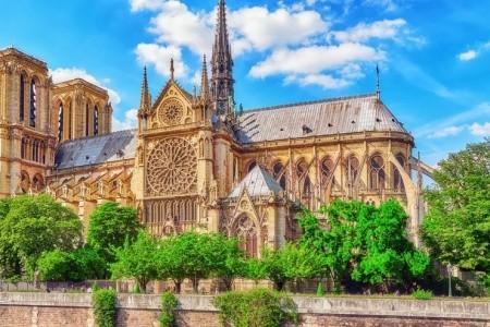 První dáma Francie:Katedrála Notre Dame