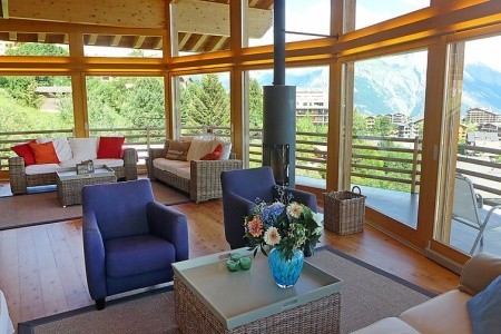 Chalet Aquarius - Švýcarsko v únoru - luxusní dovolená