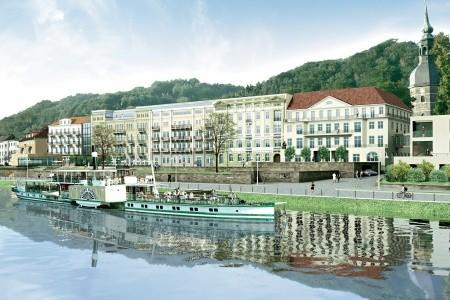 Hotel Elbreisdenz An Der Therme Gmbh, - v září