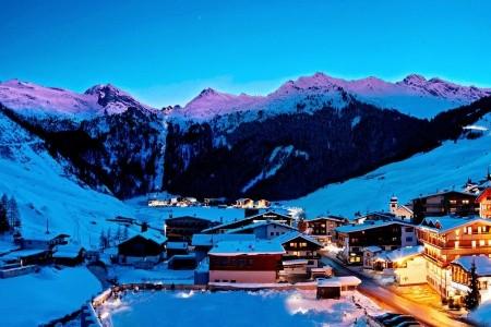 Berghof Hintertux Crystal Spa & Sport - v listopadu