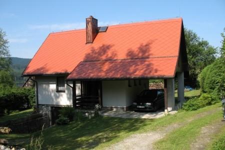 Chata Lojzovy Paseky - v červenci