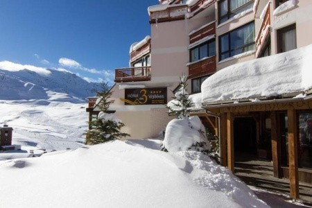 Hotel Des 3 Vallées - Last Minute Val Thorens -  Francie 2021