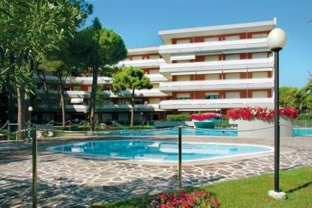 Rezidence La Meridiana S Bazénem Al– Lignano Riviera - Itálie  v říjnu - levně
