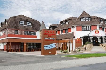 Hotel Piroska - v červenci