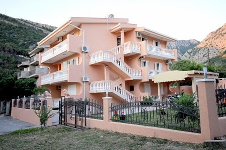 Apartmány Milacic - apartmány