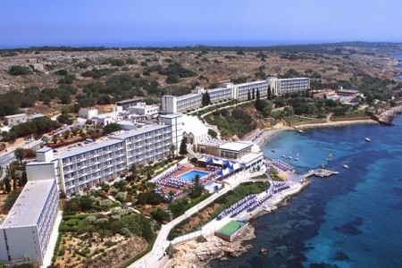 Mellieha Bay Hotel - letecky all inclusive