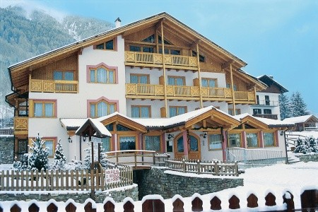 Hotel Gran Zebru - v lednu