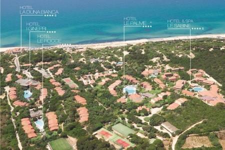 Resort & Spa Le Dune - Hotel Le Rocce - lázně