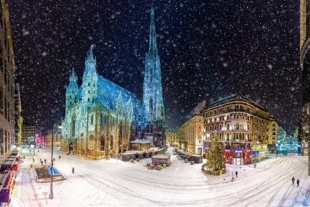 Advent ve Vídni - autobusem