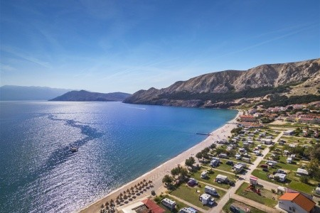 Baška Beach Camping Resort, Chorvatsko, Krk