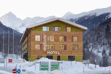 Hotel Explorer Montafon - Kitzbühel / Mittersill v únoru