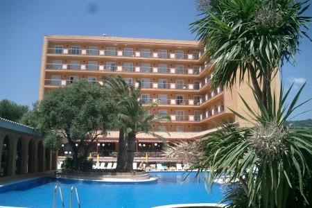 Hotel Luna Park - Malgrat - v červenci