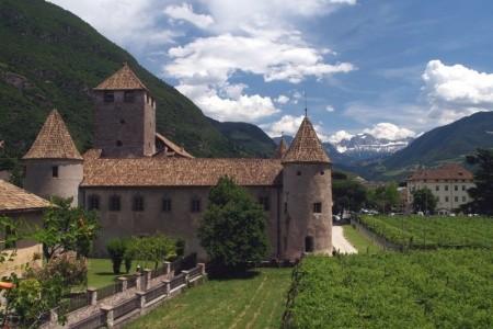 Paleta z Dolomit a jezero Lago di Garda - polopenze
