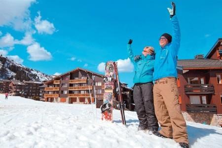 Méribel-Mottaret/les 3 Vallées - Rezidence Hameau Du Mottare - lyžování