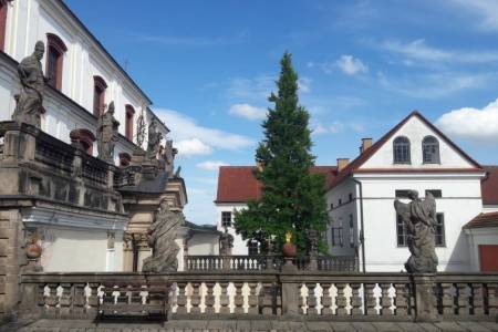 Horní Adršpach - Adršpach v říjnu