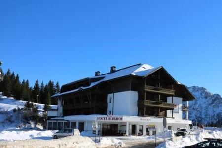 Hotel Berghof, Nassfeld - v únoru