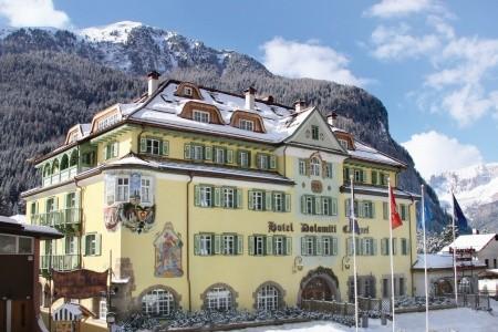 Zámecký Hotel Dolomiti - v únoru