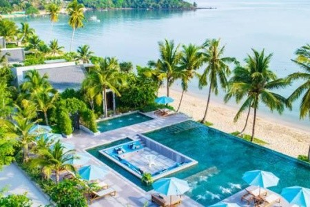Celes Beachfront Resort Koh Samui - v lednu