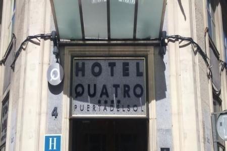 Quatro Puerta Del Sol Hotel Snídaně