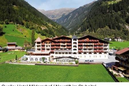 Hotel Mildererhof ****sup. - Stubaital  - Rakousko