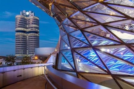 Svět BMW a Olympiapark Mnichov - levně