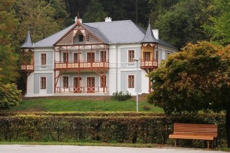 Hotel Vila Alpská Růže - Ubytování Luhačovice