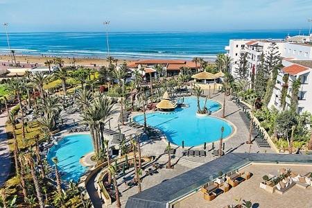 Hotel Riu Tikida Beach - Na pláži