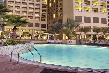 Hotel Amwaj Rotana Jumeirah Beach - v červnu