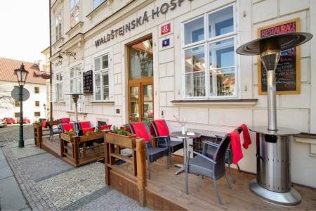 Hotel Three Storks: Rekreační Pobyt 5 Nocí - Ubytování Praha a okolí