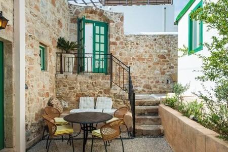 Apartmánový Dům Xenones Lindos - Řecko v říjnu