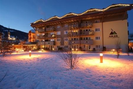 Apartmány Residence Adler**** - Zima 2020/21 - Dolomity Superski - Itálie