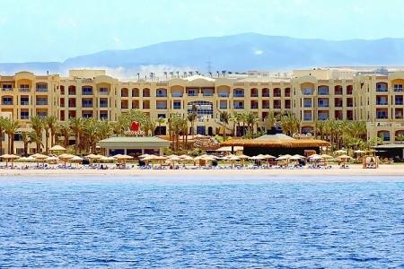Hotel Tropitel Sahl Hasheesh - v lednu