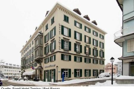 Sorell Hotel Tamina Snídaně