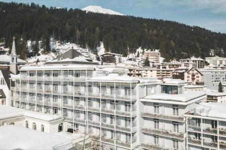 Hard Rock Hotel Davos Snídaně